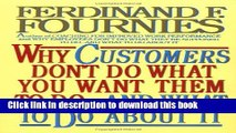 Books Why Customers Don t Do What You Want Them to Do and What to Do About It Free Online
