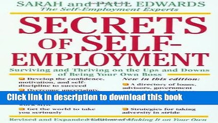 Ebook Secrets of Self-Employment: Surviving and Thriving on the Ups and Downs of Being Your Own