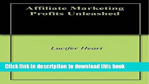 Ebook Affiliate Marketing Profits Unleashed Free Online