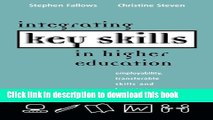 Ebook Integrating Key Skills in Higher Education: Employability, Transferable Skills and Learning