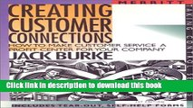 Ebook Creating Customer Connections: How to Make Customer Service a Profit Center for Your Company