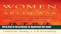 Ebook Women and the Art of War: Sun Tzu s Strategies for Winning Without Confrontation Free Online