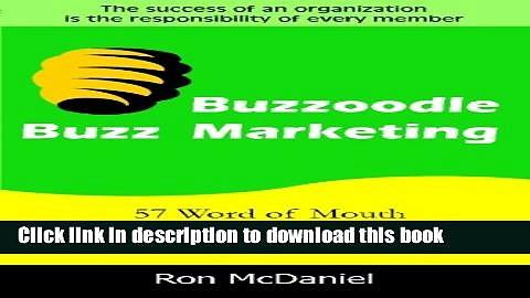 Ebook Buzzoodle Buzz Marketing Free Online
