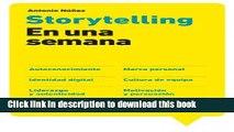 Books Storytelling en una semana: Autoconocimiento, Marca personal, Identidad digital, Cultura de