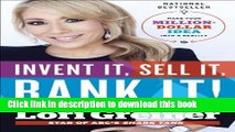 PDF  Invent It, Sell It, Bank It!: Make Your Million-Dollar Idea into a Reality  Online