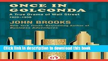 Books Once in Golconda: A True Drama of Wall Street 1920-1938 Full Online