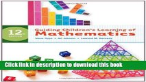 Books Guiding Children s Learning of Mathematics Free Online