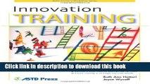 PDF  Innovation Training (ASTD Trainer s Workshop)  {Free Books Online