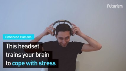 This Headset Helps Your Brain Cope With Stress