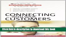 Ebook Connecting With Your Customers (Results-Driven Manager, The) Free Online