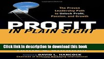 Ebook Profit in Plain Sight: The Proven Leadership Path to Unlock Profit, Passion, and Growth Free