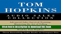 Ebook Tom Hopkins Audio Sales Collection Free Online