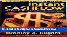 Ebook Instant Cashflow : The Keys to Multiplying Your Business Profits (Entrepreneur s Secrets