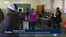 Afrique du Sud: ouverture des bureaux de vote pour les élections municipales
