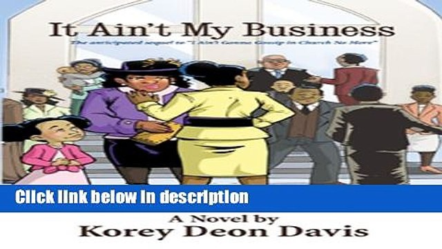 Ebook It Ain t My Business Free Online
