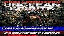 Ebook Gods and Monsters: Unclean Spirits Free Online
