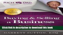Ebook Buying and Selling a Business: How You Can Win in the Business Quadrant Full Online