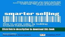 Ebook Smarter Selling: How to grow sales by building trusted relationships (2nd Edition) Full