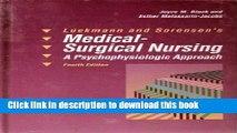 Ebook Luckmann and Sorensen s Medical-Surgical Nursing: A Psychophysiologic Approach Free Online
