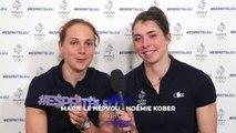 #EspritBleu - Les objectifs de Marie Le Népvou et Noemie Kober pour RIo