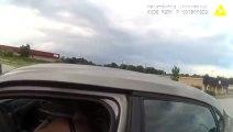 Une automobiliste fait tomber un policier qui voulait l'arrêter