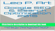 Books Google SEO   Search Optimization 2015: The 6 Main SEO Methods   Tips To SEO Optimize Your