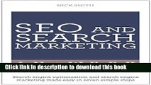 Books SEO And Search Marketing In A Week: Search Engine Optimization And Search Engine Marketing