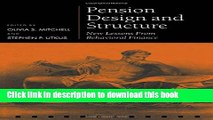 Ebook Pension Design and Structure: New Lessons from Behavioral Finance (Pension Research Council