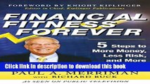 Books Financial Fitness Forever:  5 Steps to More Money, Less Risk, and More Peace of Mind Free
