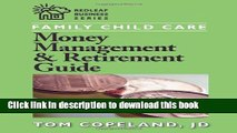 Ebook Family Child Care Money Management and Retirement Guide (Redleaf Business Series) Full