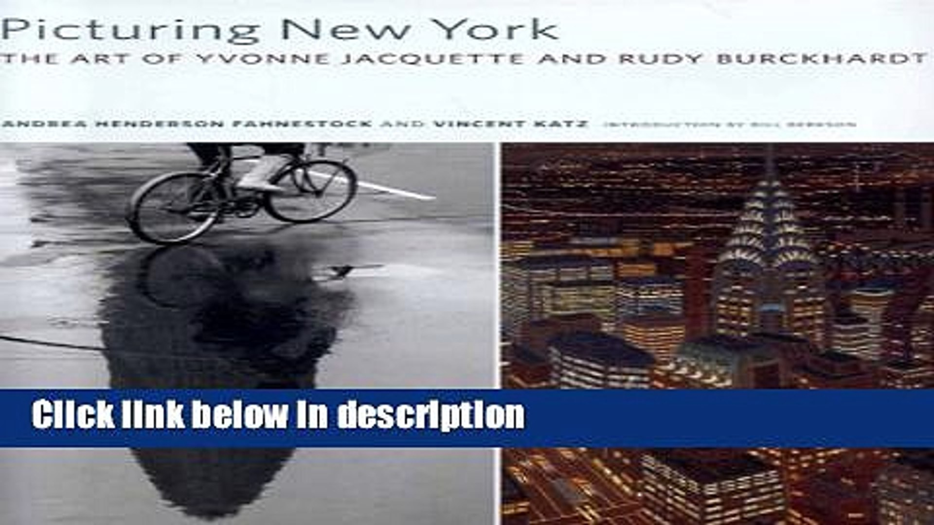 Books Picturing New York: The Art of Yvonne Jacquette and Rudy Burckhardt Free Download