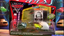 Cars 2 toys Acer with Helmet Movie Moments Diecast Professor Z Disney Pixar toy review Blucollection