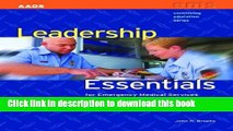 Books Leadership Essentials For Emergency Medical Services (Continuing Education) Free Online