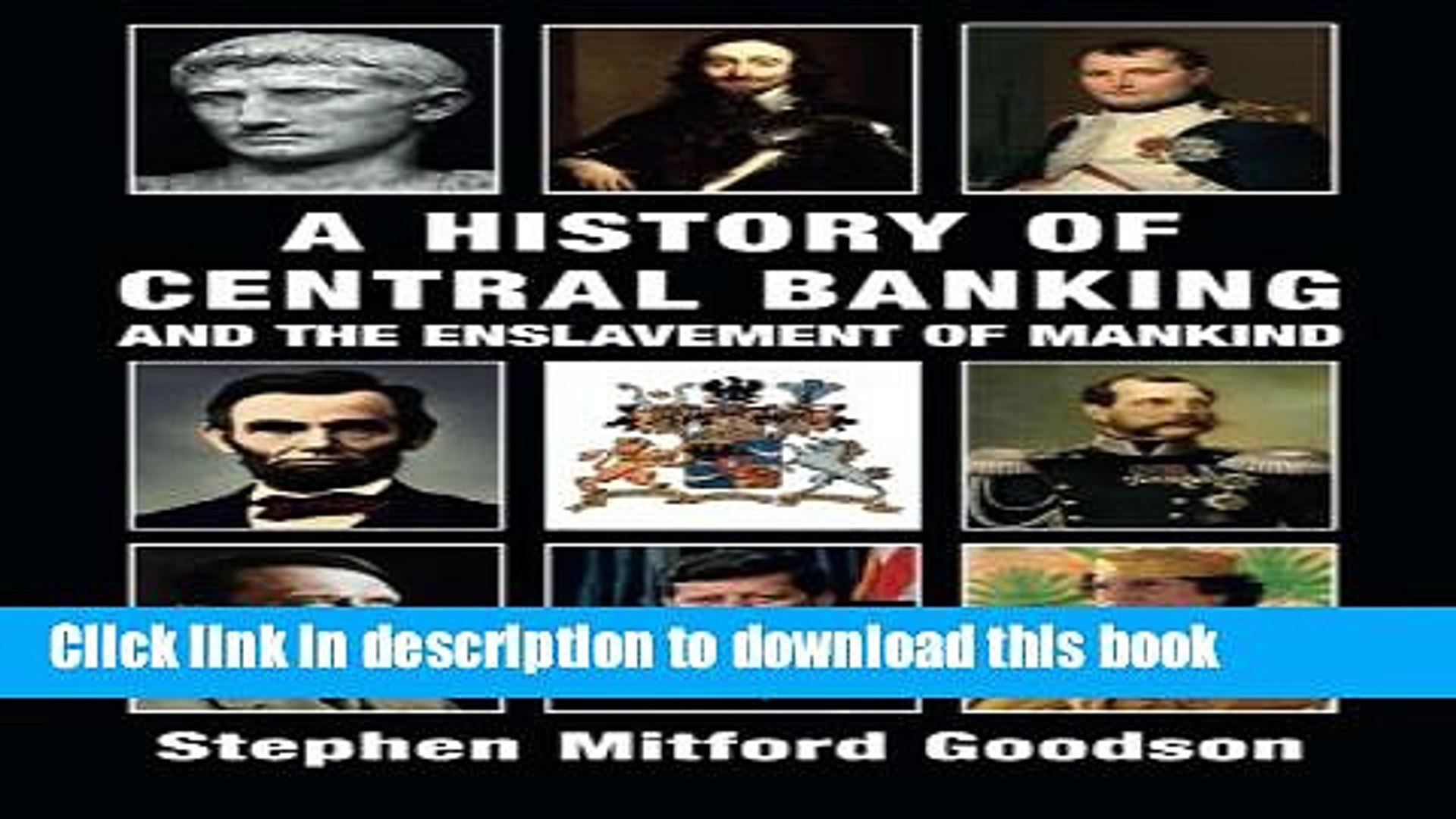 Download  A History of Central Banking and the Enslavement of Mankind  {Free Books|Online
