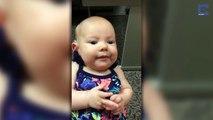 Ce bébé entend sa mère pour la première fois, trop mignon !