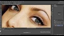 Adobe Photoshop CS6   [ Beginners Tutorial ] - How To Change Eye Color