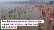 Chine : les plages prises d'assaut