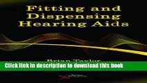 Books Fitting and Dispensing Hearing Aids Full Online