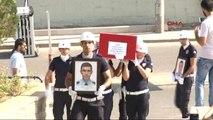 Şehit Polis Osman Eray Karademir ile Şehit Polis Oğuz Sünbül Son Yolculuğuna Uğurlandı (2