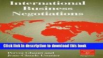 [Read PDF] International Business Negotiations (International Business and Management) Ebook Online