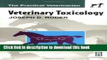 Books Veterinary Toxicology, 1e (Practical Veterinarian) Full Online