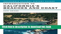 Ebook Introduction to California s Beaches and Coast (California Natural History Guides) Full