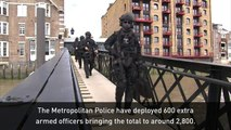 More armed police to patrol London streets