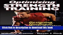 Books Optimizing Strength Training Free Online KOMP