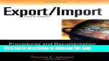 [Read PDF] Export/Import Procedures and Documentation (Export/Import Procedures   Documentation)