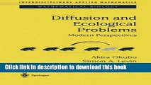 Ebook Diffusion and Ecological Problems: Modern Perspectives (Interdisciplinary Applied