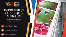 Acheter & imprimer des adhésifs décoratifs muraux à Québec - Lettrage RGS