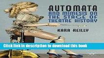 PDF  Automata and Mimesis on the Stage of Theatre History  Free Books KOMP B