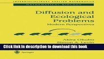Books Diffusion and Ecological Problems: Modern Perspectives (Interdisciplinary Applied