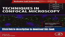 Techniques in Confocal Microscopy (Reliable Lab Solutions)
